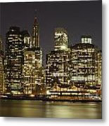 Bright Lights Big City Metal Print