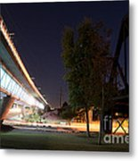 Bright Night By The Tressles Metal Print