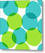 Bright Seamless Pattern With Circles Metal Print