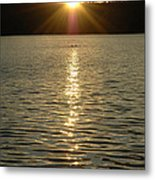 Brighter Days Are Ahead Metal Print by John Sarnie