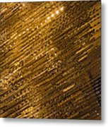 Brilliant Gold And Gems And Jewels Metal Print