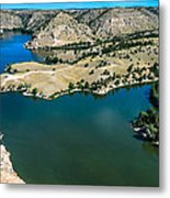 Brimmer Point Of Guernsey State Park Metal Print