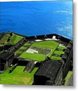 Brimstone Fortress St Kitts Metal Print