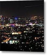 Brisbane Nights I Metal Print