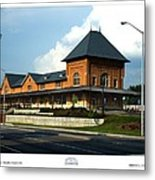 Bristol Train Station Bristol Virginia Metal Print