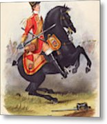 Britain  A Member Of The Second Dragoon Metal Print