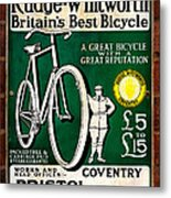 Britains Best Bicycle Metal Print