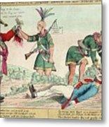 British And American Indian Raids Metal Print