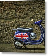 British At Heart Metal Print
