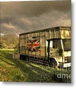 British Cargo Metal Print