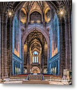 British Cathedral Metal Print by Adrian Evans
