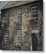 British Cottage Metal Print