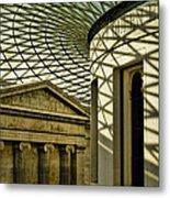 British Museum Metal Print