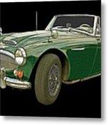 British Racing Green Metal Print