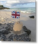 British Sandcastle Metal Print