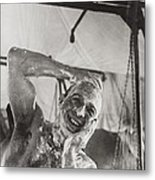 British Soldier In The Western Showers Metal Print