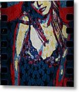 Britney Pop Art Metal Print