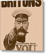 Britons Your Country Needs You  Metal Print