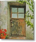 Brittany  Door Metal Print