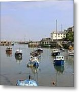 Brixham In Devon Metal Print