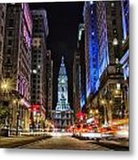 Broad Street South Metal Print