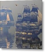 Broadsides Metal Print by Claude McCoy
