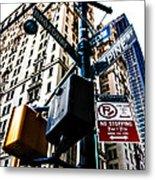 Broadway And Pine Metal Print