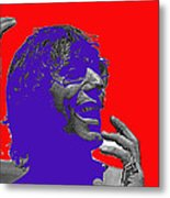 Broadway Joe Namath Telling Football Story C.c. And Co. Set  Tucson Arizona 1970-2012 Metal Print