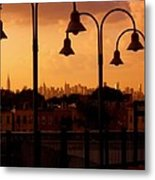 Broadway Junction In Brooklyn, New York Metal Print