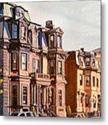 Broadway View Metal Print