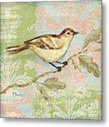 Brocade Songbird I Metal Print by Paul Brent