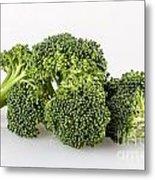 Broccoli Isolated Metal Print