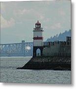 Brockton Point Lighthouse Metal Print