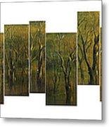 Broken Forest Metal Print