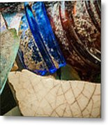 Broken Glass From The Past Metal Print