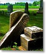 Broken Grave Metal Print