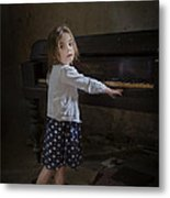 Broken Hearted Melody Metal Print