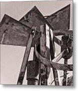 Broken Mill Metal Print