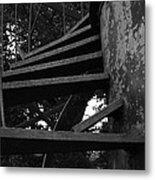 Broken Stairs Metal Print