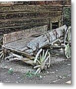 Broken Wagon Metal Print