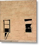 Broken Windows Metal Print