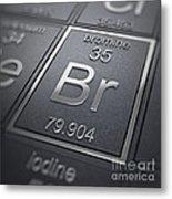 Bromine Chemical Element Metal Print