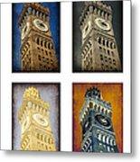 Bromo Seltzer Tower Quad Metal Print