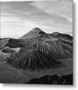 Bromo Valley Java Indonesia Metal Print