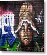 Bronx Graffiti. Jonathan Metal Print
