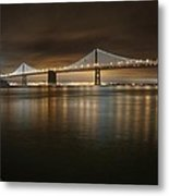 Bronze And Gold Metal Print