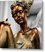 Bronze Beauty Metal Print
