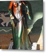 Bronze Dancer Metal Print
