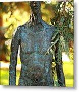 Bronze Man Metal Print