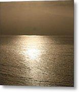 Bronze Ocean Metal Print